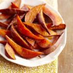 4 baked sweet potato fries