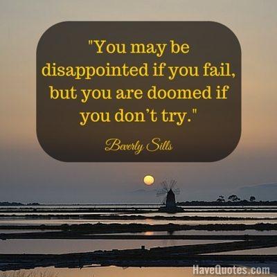 Fail quote