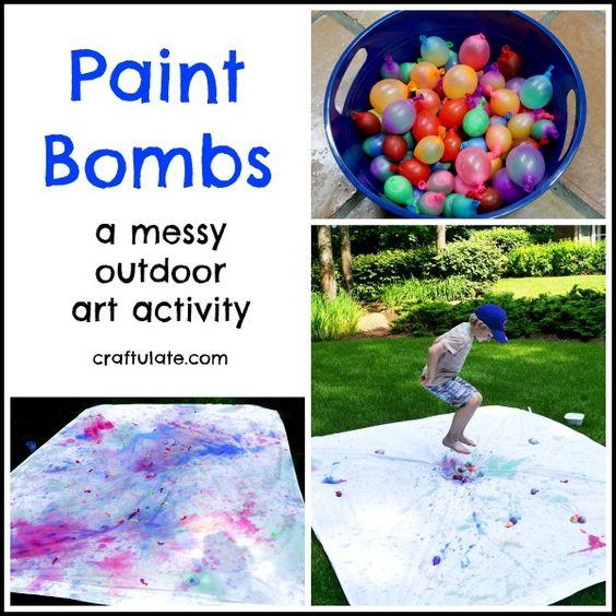 paint bombs