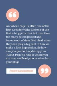 How to polish your about page - 6 questions to ask yourself when you review your 'about' or 'start here' page.