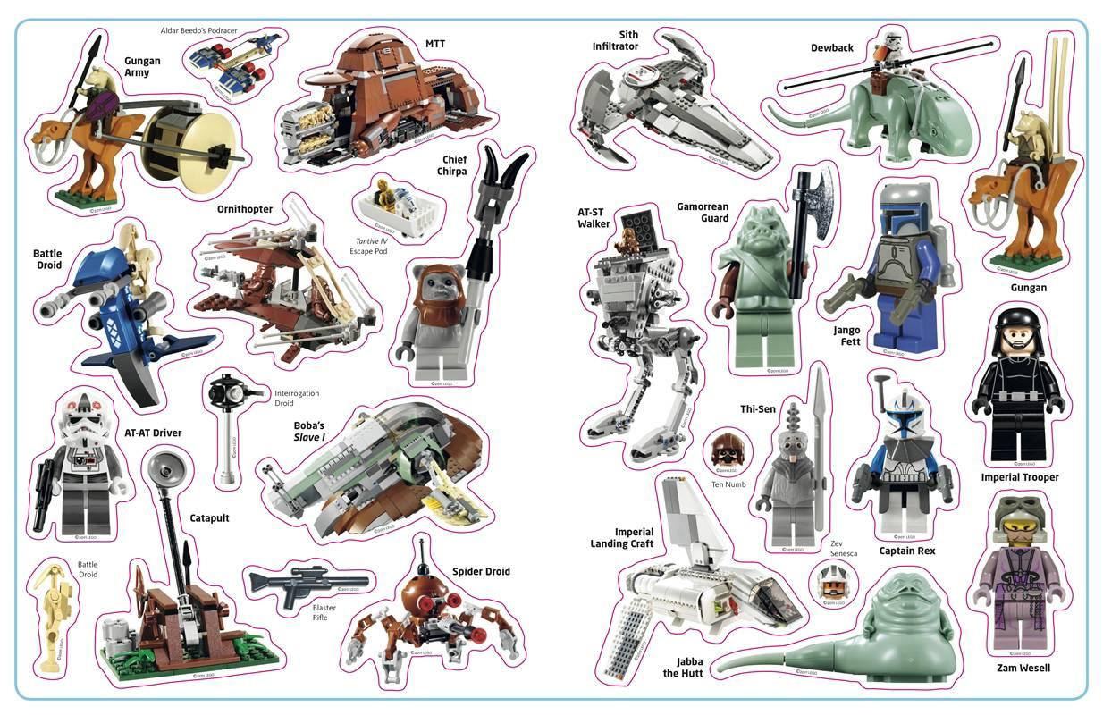 les livres de stickers lego star wars   c u2019est bien  u2013 guide