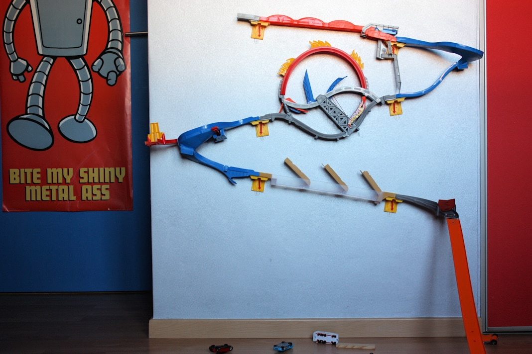 Circuit Hot Wheels Mural. Interesting Circuit Hot Wheels Mural ...