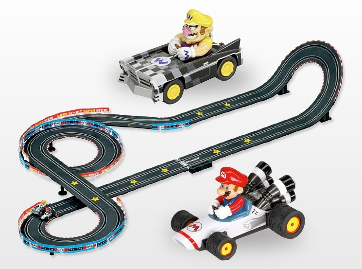 avis flash clair le circuit carrera mario kart guide du parent galactique. Black Bedroom Furniture Sets. Home Design Ideas