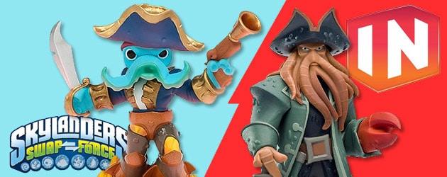 Skylanders Swap Force Vs. Disney Infinity : que choisir pour noël 2013 ?