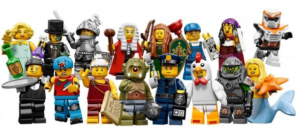 Lego Figurines - Série 9