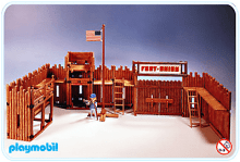 Playmobil - Fort US 1976