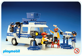 Playmobil - Fourgon TV 1984