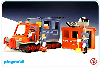Playmobil - Laboratoire polaire 1986