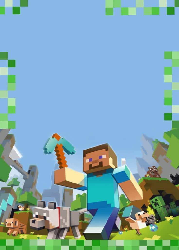 Anniversaire Minecraft Creepers Pixels Et Tnt Guide Du Parent