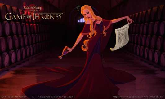 Disney Game of Thrones : Cersei Lannister