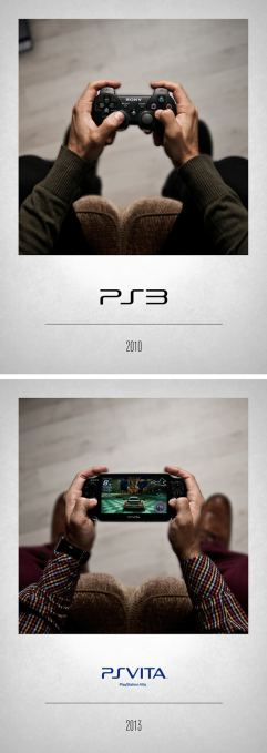 2010 PS3 - 2013 PS Vita
