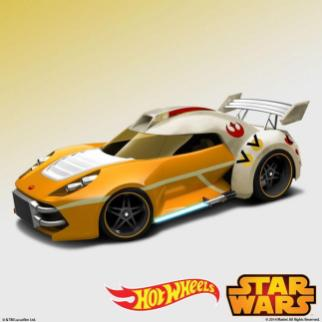 Hot Wheels Star Wars : Luke