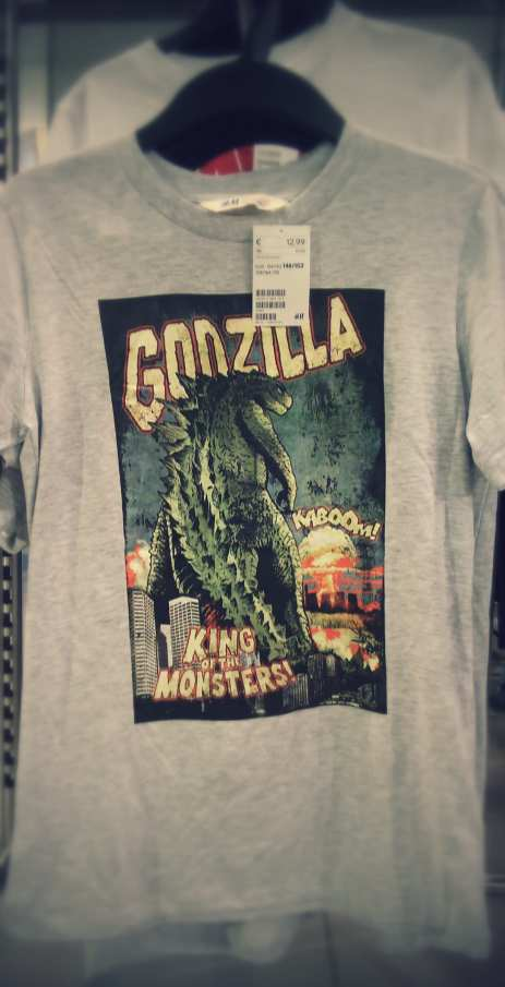 T-Shirt enfant Godzilla King of the Monsters