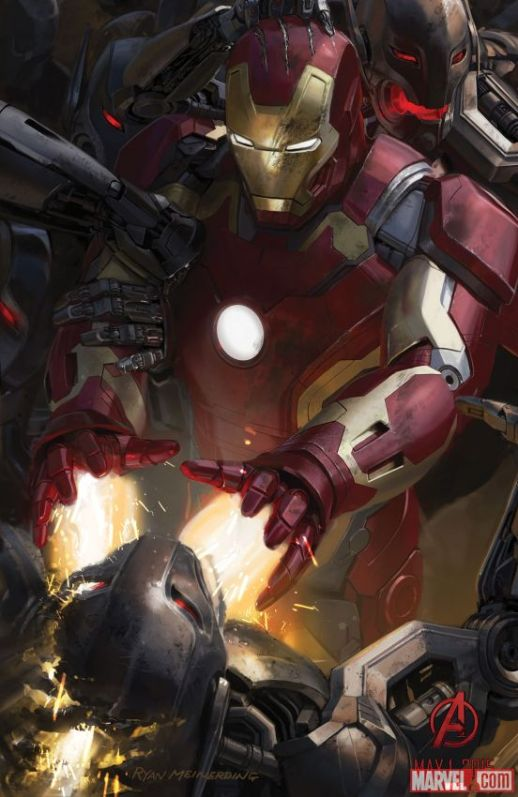 Avengers Age of Ultron - Affiche Iron Man