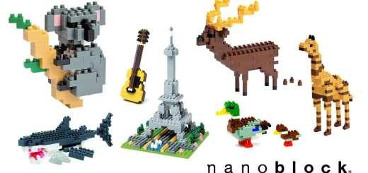 Nanoblock, les Lego miniatures