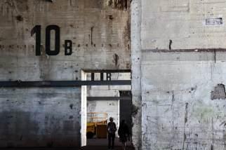 Base sous-marine de Saint-Nazaire - Intérieur