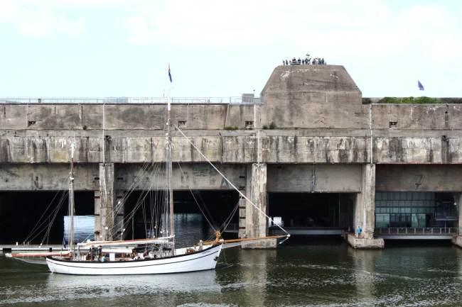 Base sous-marine de Saint-Nazaire - Extérieur