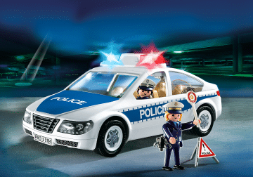 Voiture Playmobil Police