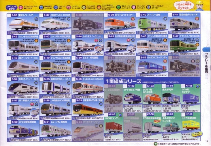 catalogue plarail 3