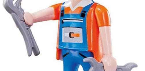 Mécanicien Playmobil