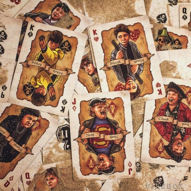 Jeu de cartes des Goonies