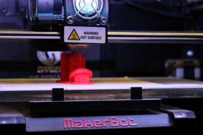 Démonstration d'imprimante 3D