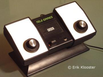 Console Pong - Atari