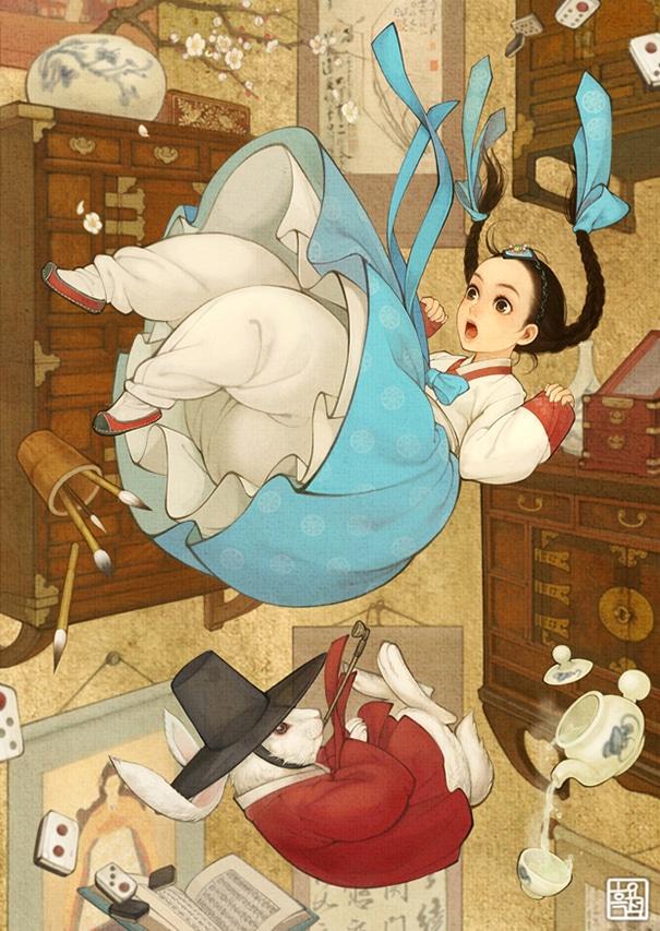 8 - Alice In Wonderland