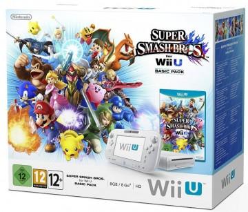 Pack Super Smash Bros + Wii U