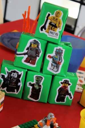 Jus de fruit Lego