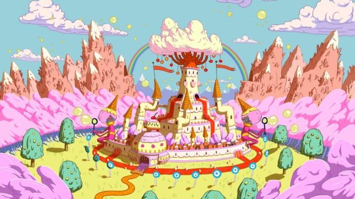 Fond d'écran : Adventure Time - Le Royaume de la Confiserie