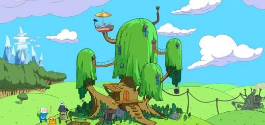 Fond d'écran : Adventure Time - La maison de Finn & Jake