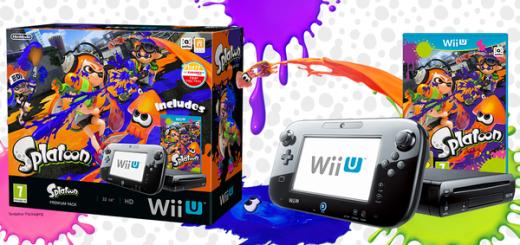 Pack Wii U 32 Go + Splatoon