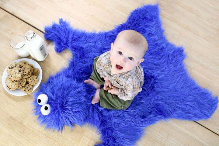Tapis Cookie Monster