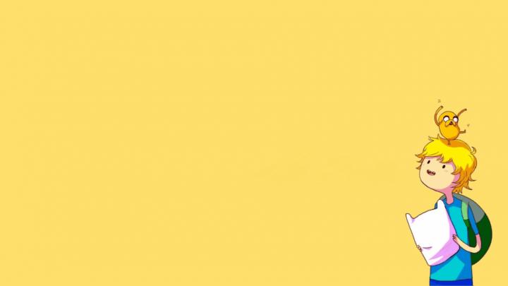 Fond décran : Adventure Time - Finn et Jake