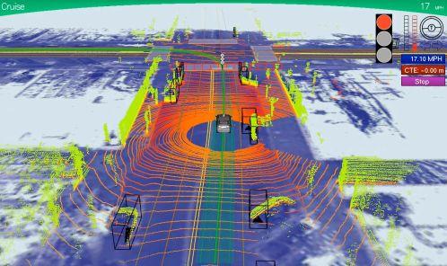 Ce que voit la Google Car
