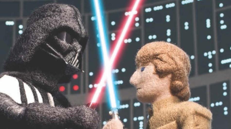 Star Wars Epic Yarns : Luke Vs. Vador