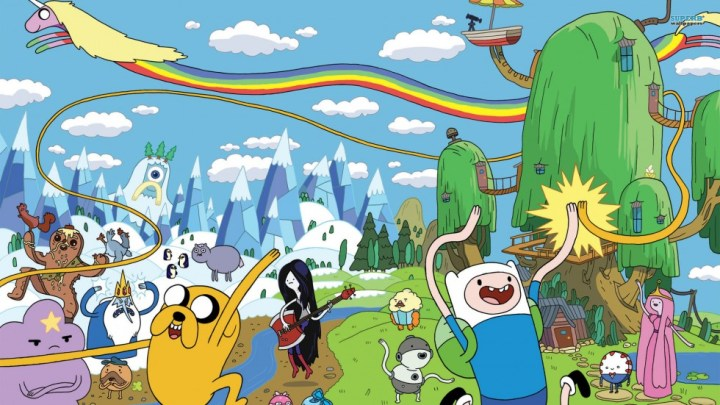 Fond d'écran : Adventure Time