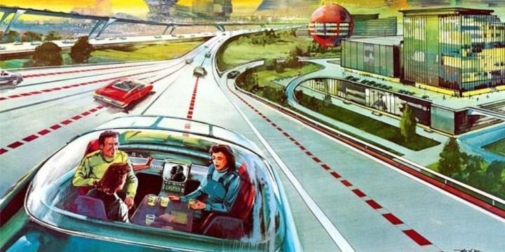 Rétro-futur : la voiture sans conducteur