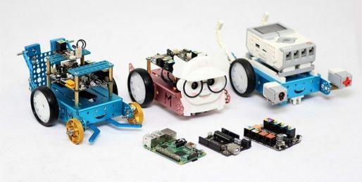 mBot augmenté avec dautres trucs