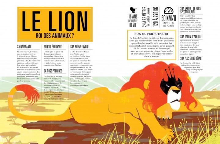 Le lion - Roi des animaux ?