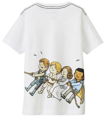 T-Shirt Star Wars Uniqlo Enfant (8)