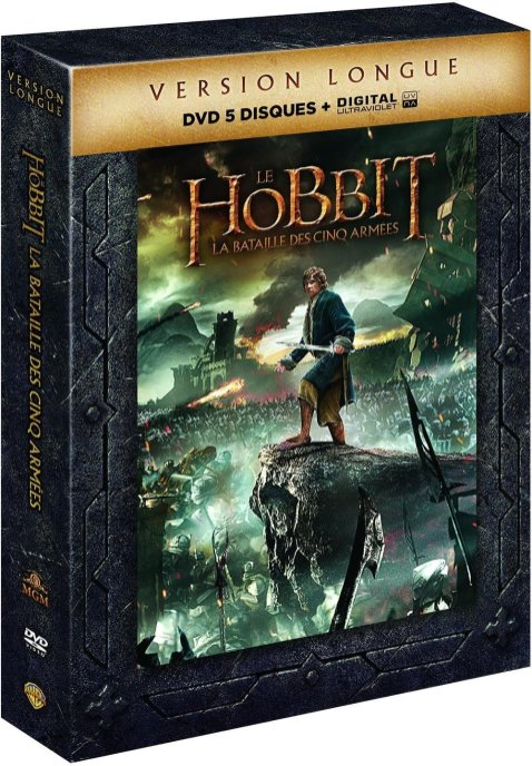 Hobbit 3 Version Longue DVD