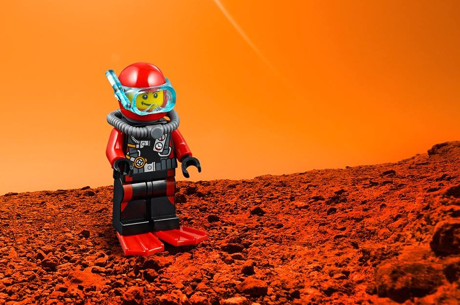 De l'eau sur Mars