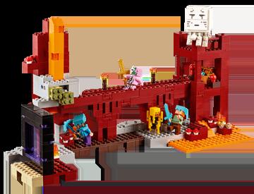 Lego Minecraft - Forteresse du Nether