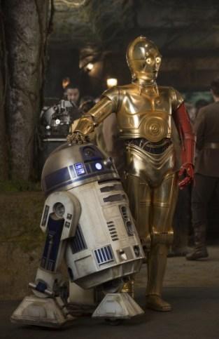 R2D2 et C3PO, version Episode VII