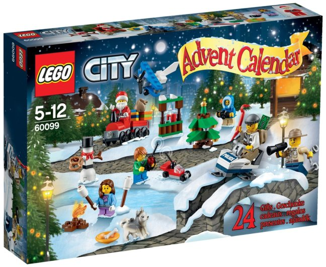 Calendrier Avent Lego City 2015