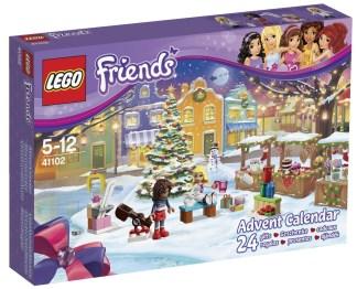 Calendrier Avent Lego Friends 2015