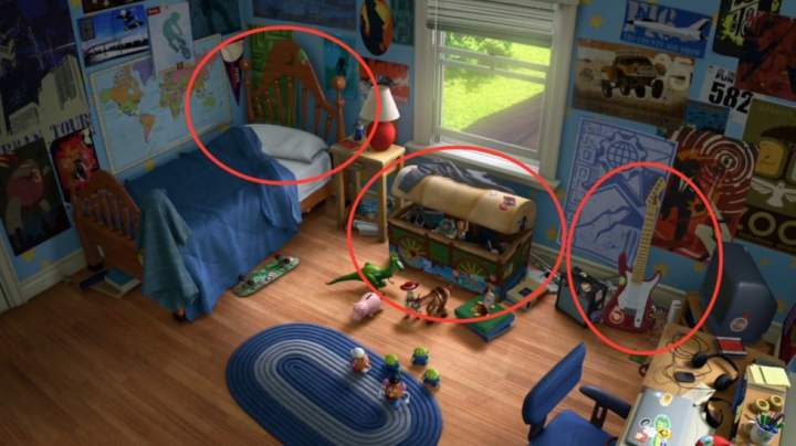 Chambre Andy Toy Story 3 (5)