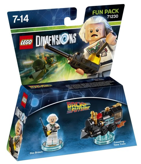 Doc Brown Lego Dimensions
